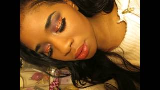 Happy Thanksgiving eye makeup look ft BH Cosmetics party girl palette Thumbnail