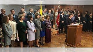 Ministros exigen al Ejecutivo respetar a la Corte