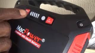 MacPower M42 Portable Solar Inverter Generator PowerBank