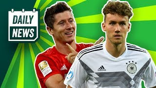 Robert Lewandowski verlängert! Luca Waldschmidt für den DFB? Lang zu Werder Bremen?