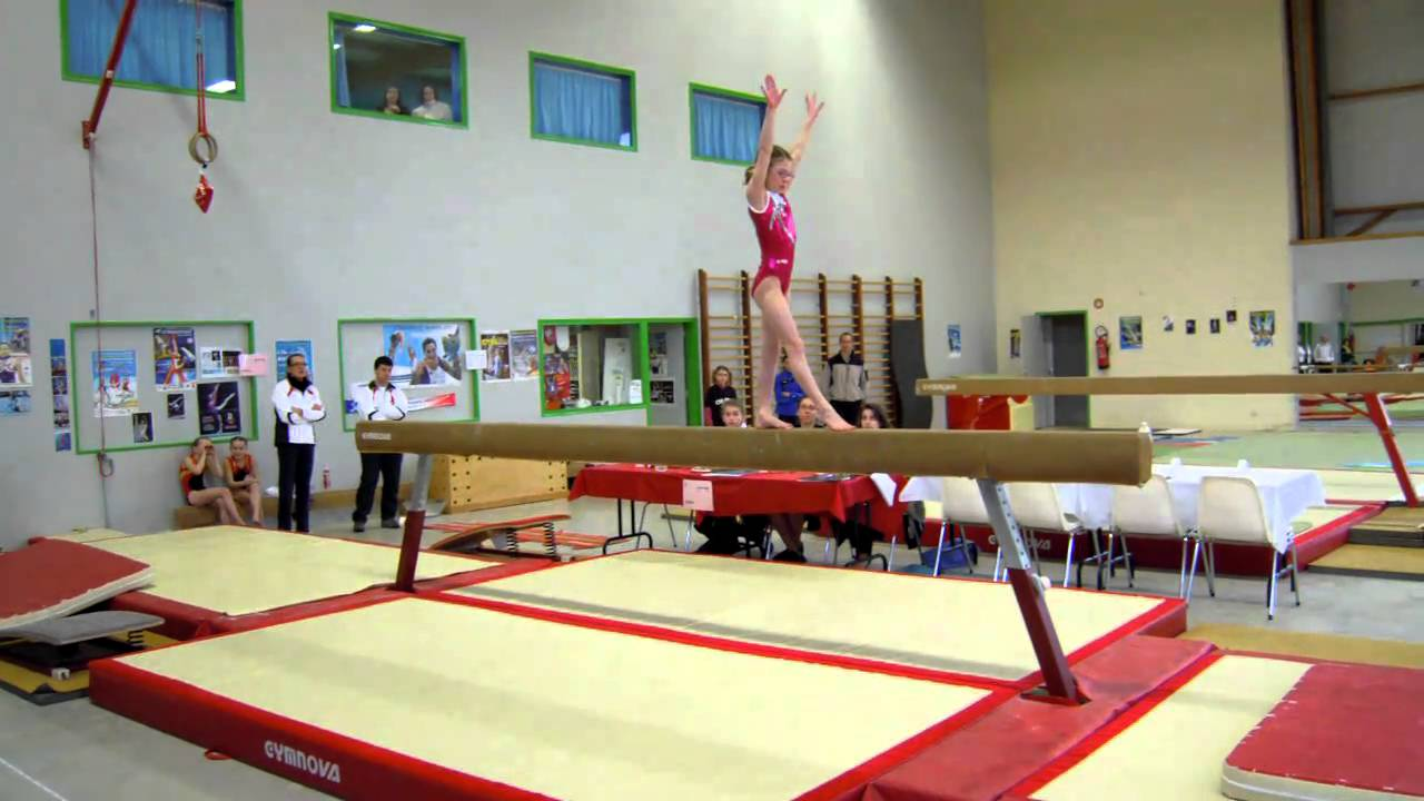 sophie mallet gymnastique poutre gaf 20 f vrier 2011 esp rance chartres de bretagne youtube. Black Bedroom Furniture Sets. Home Design Ideas