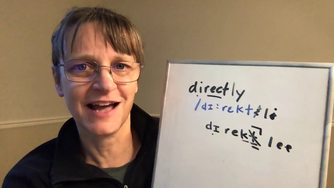 Download How to Pronounce Direct and Directly (Free American Accent Training from SpeechModification.com)