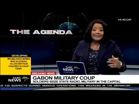 Gabon military coup  | Soldiers seize state radio, military in the capital