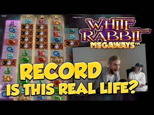RECORD WIN!?? White Rabbit Big win - Casino - Online slots - Jackpot