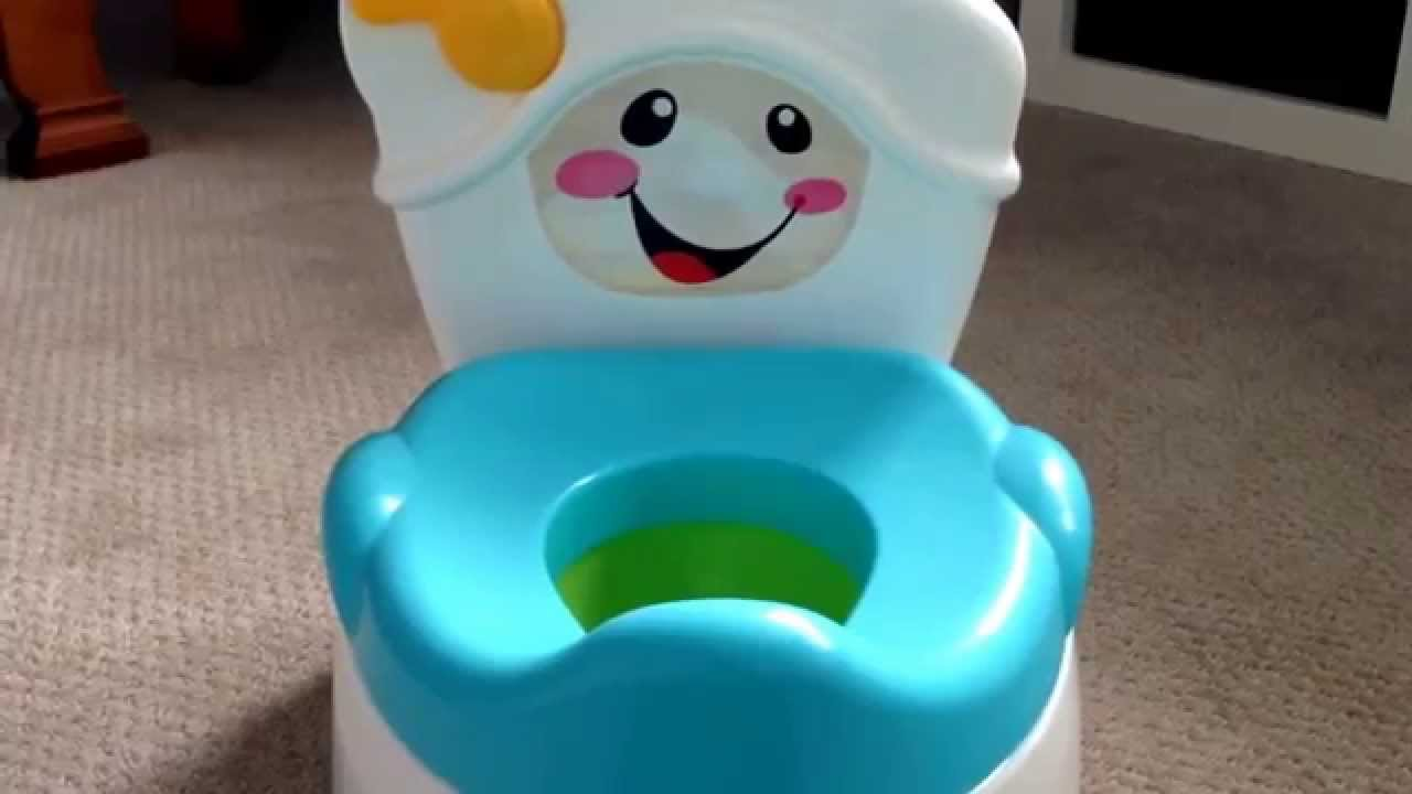 Fisher Price Learn To Flush Potty Review - YouTube