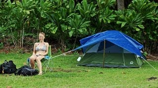 Maui camping at Wai'anapanapa State Park