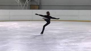 Флип (2 оборота) в исполнении Аделины Сотниковой