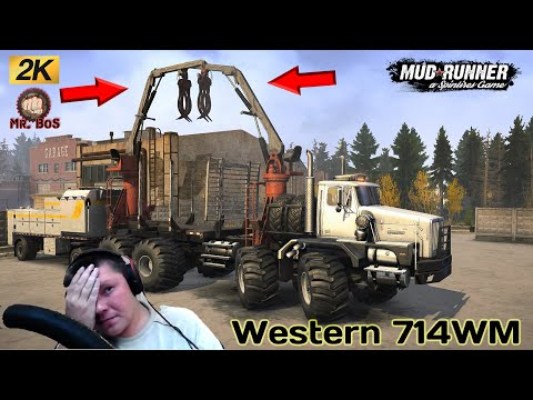 Western 714WM Честный Обзор мода Spintires MudRunner