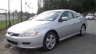 2006 Honda Accord Coupe V6 6spd Start Up, Engine, and In Depth Tour