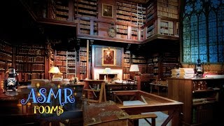 Harry Potter ASMR - Hogwarts Library - HD ambient sound white noise - Cinemagraphs thumbnail