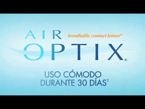 Lentes de contacto Air Optix Ideales para pacientes exigentes - YouTube 20f5ded15f