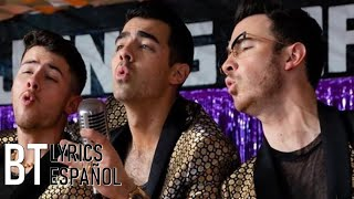 Gambar cover Jonas Brothers - What A Man Gotta Do (Lyrics + Español) Video Official