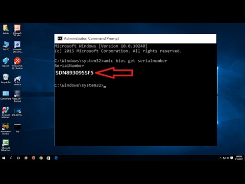 How to Check Laptop or PC Serial number or Product ID (No Software)