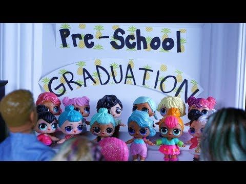 LOL SURPRISE DOLLS Graduation Rehearsal, Moving Announcement & Graduation Day!