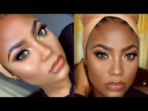 SOFT GLAM MAKEUP TUTORIAL FOR BROWN / DARK SKIN || MUFIDAH MUKHTAR thumbnail