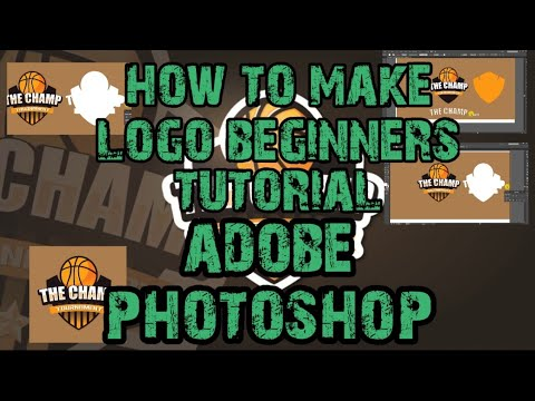 Paano gumawa ng logo gamit ang adobe photoshop/beginner tutorial thumbnail
