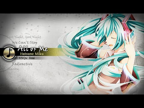 【Hatsune Miku V3 English】John Legend - All Of Me - Vocaloid Cover