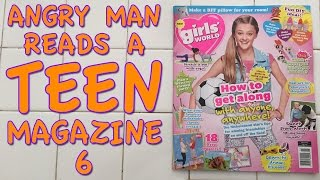 Angry Man Reads a Teen Magazine 6