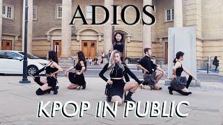 "[KPOP PUBLIC DANCE] EVERGLOW ""Adios"" [R.P.M]"