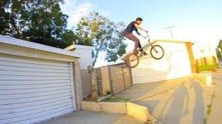 riding off roofs in long beach with tom villarreal