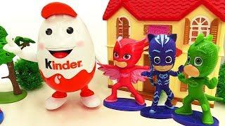 PJ Masks toys - A Surprise Egg. Kids' video.