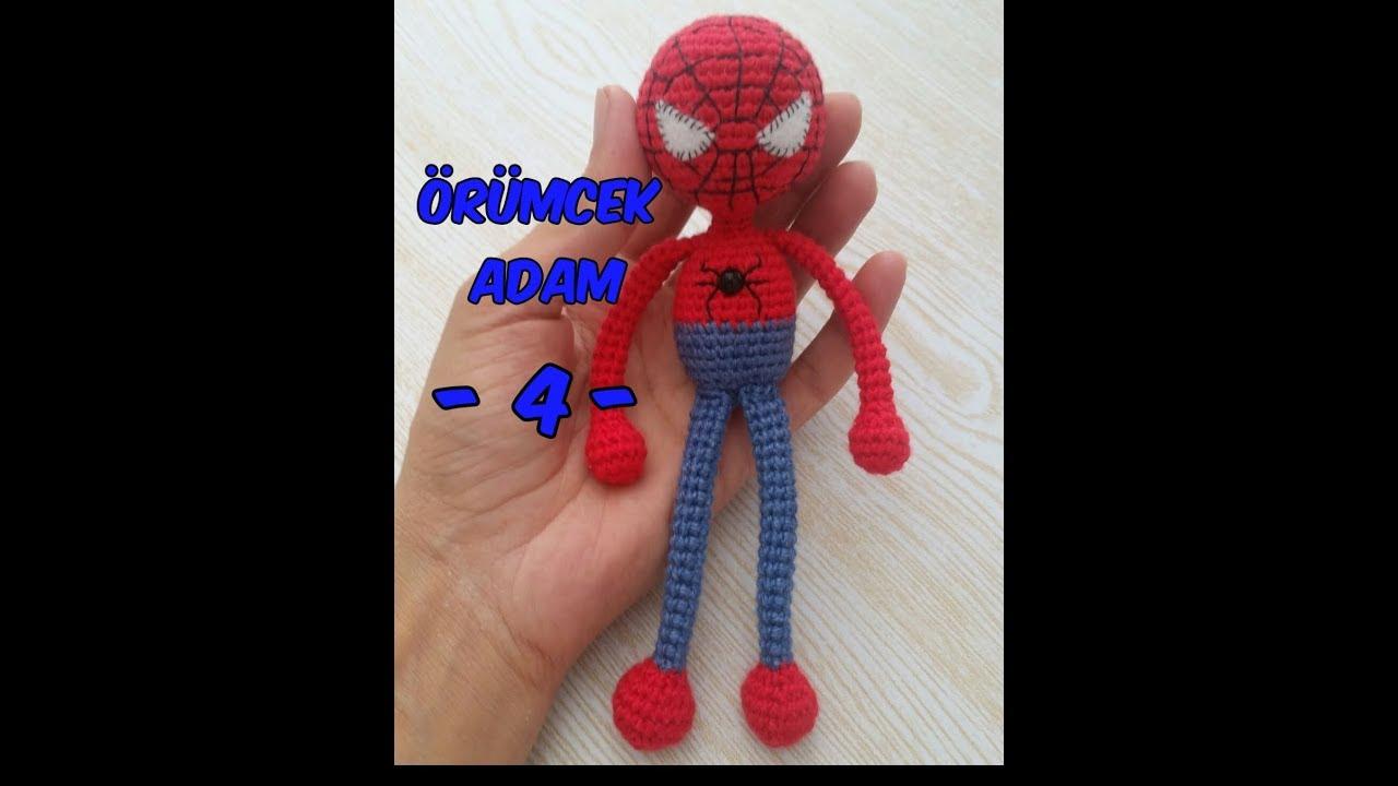 Örümcek Adam (stitch) Spiderman (Kafa Dikiş)