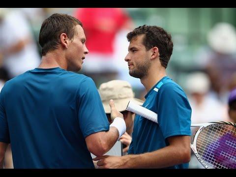 Grigor Dimitrov vs. Tomas Berdych 6-3, 2-6, 6-4 Miami Open (R32) 25.03.2012.