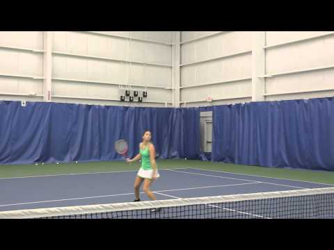 Sarah Stein College Tennis Recruiting Video