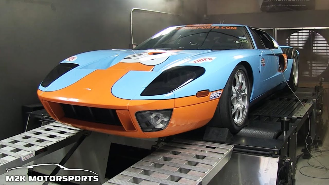 1894hp Twin Turbo Ford Gt M2k Motorsports Youtube