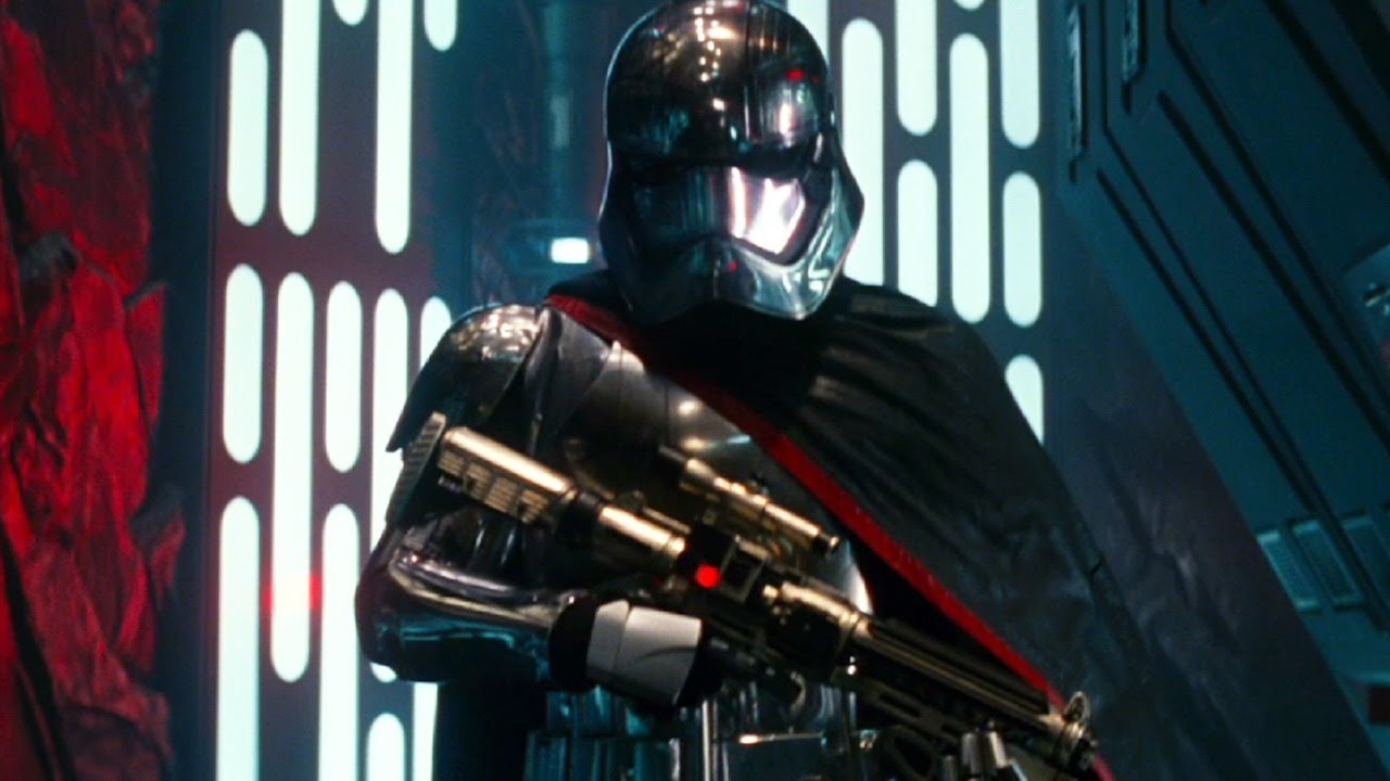 Star Wars: Is Captain Phasma the Next Boba Fett or Darth Maul? – Keepin' It Reel Podcast