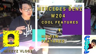 MERCEDES BENZ C CLASS W204 COOL and  UNKNOWN  FEATURES + TIPS