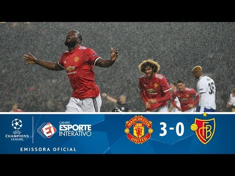 Melhores Momentos - Manchester United 3 X 0 Basel - Champions League (12/09/2017)