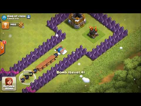 TROOPS VS FREEZE TRAP, CRAZY EXPERIMENT, TROLL BASS ! Clash of Clans by fc.Class!!!!!