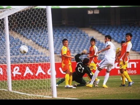 Bhutan vs Afghanistan (Full Match) SAFF Championships 2011