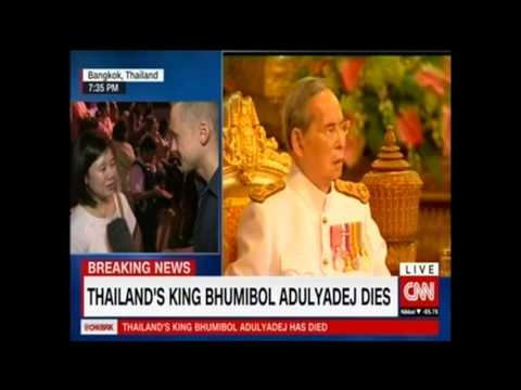 Passing of the Great King   CNN Reports from Bangkok   13 October 2016