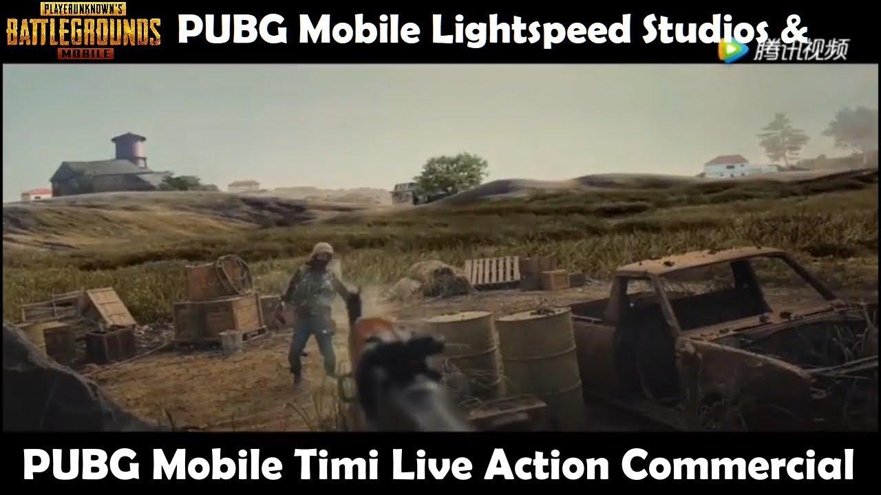 PUBG Mobile Lightspeed & Timi Studio Live Action Film