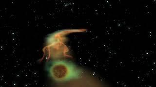 Black Hole Snacks On A Super-Jupiter | Animation