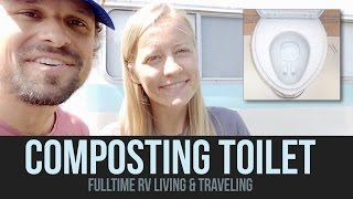 Composting Toilet for RVs - Q&A - Fulltime RV Living & Traveling - a Drivin' & Vibin' Travel Vlog