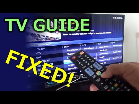 TV Guide (EPG) Fixed!