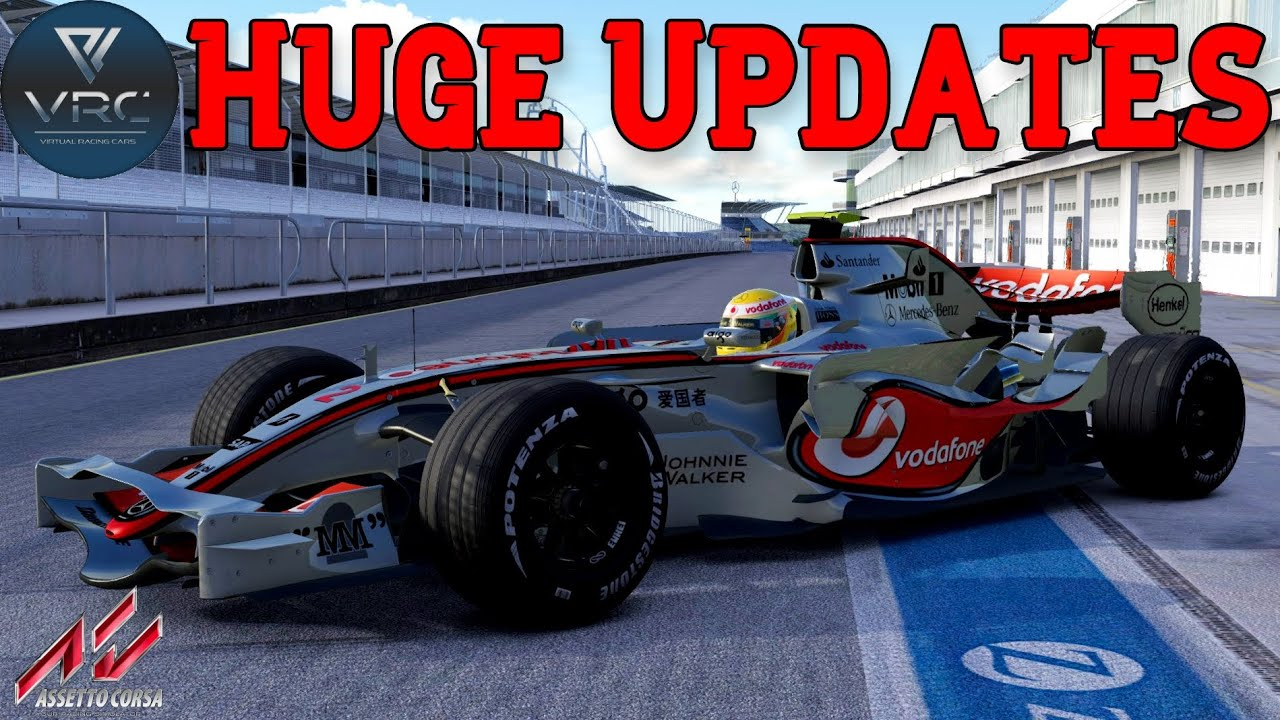 New Free F1 mods for Assetto Corsa