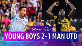 Young Boys v Man Utd (2-1) | Ronaldo scores but Red Devils lose | Champions League Highlights