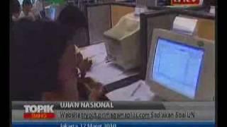 Berita Indonesia - Siswa Bisa Berlatih Soal UN Secara Online
