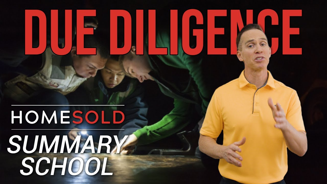 What does Due Diligence mean to a Buyer & Seller in Atlanta Georgia? - HomeSold GA Summary School