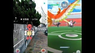 【Pokemon GO】收服安瓢蟲與第三代寶可夢噗噗豬道館對戰! [精靈寶可夢GO]