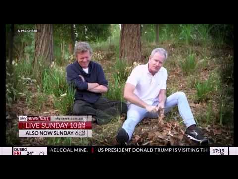 David Speers reacts to Sky News Outsiders promo