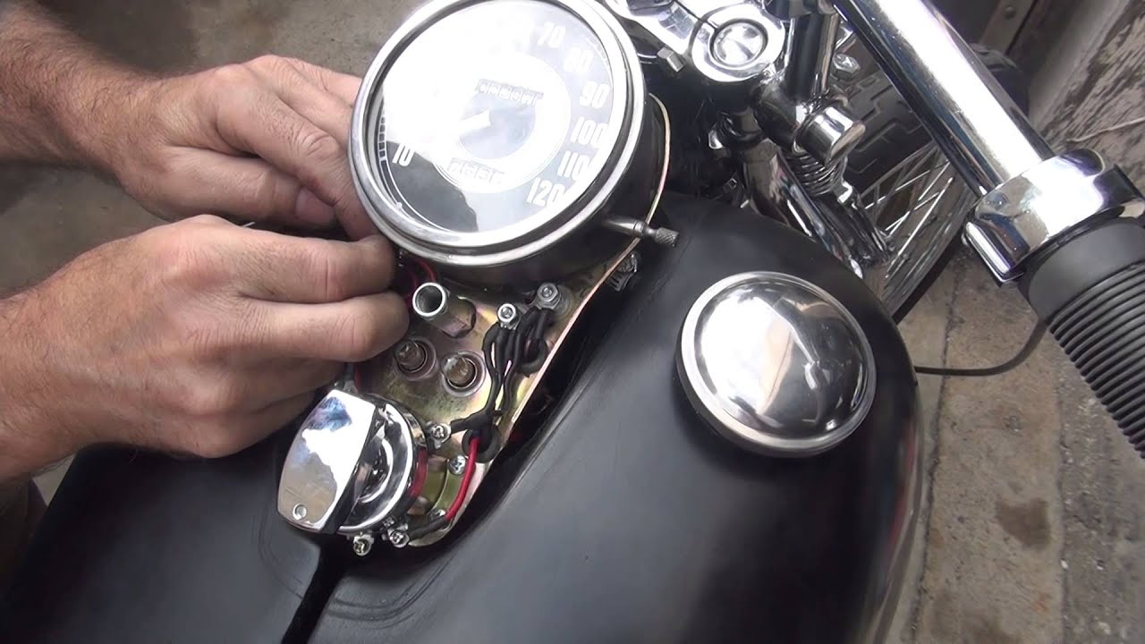 1948 64 panhead roadside dash wiring electrical repair 101 harley harley wiring diagrams 2013 1948 64 [ 1920 x 1080 Pixel ]