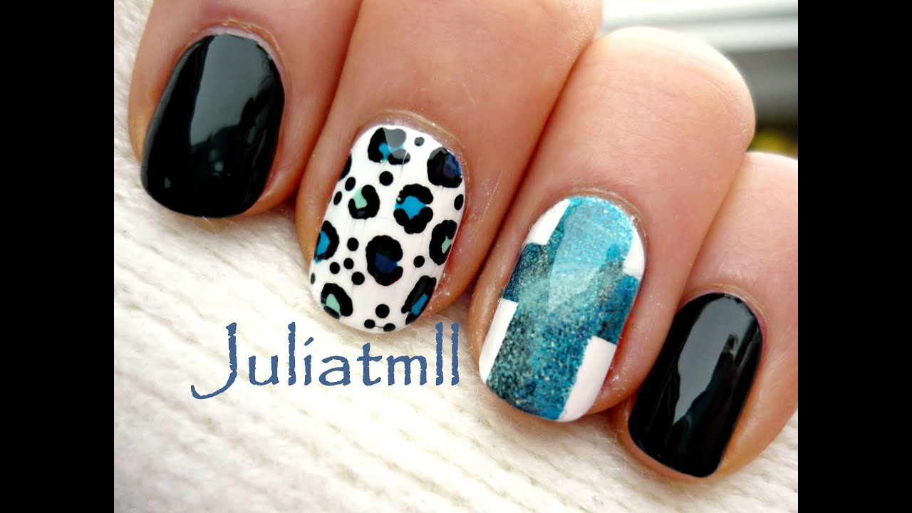 Winter hippie chic nail art youtube prinsesfo Gallery