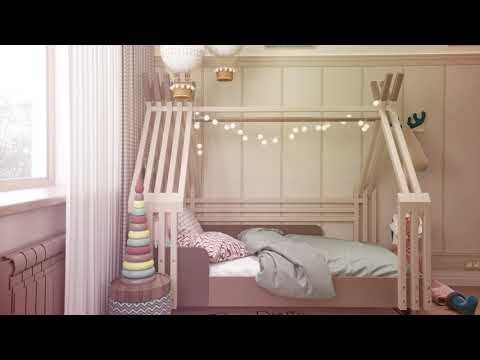 Дизайн 2х комнатной квартиры в Самаре, ЖК Пемьера