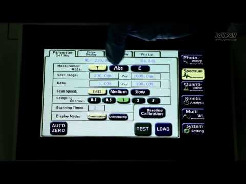 UV-VIS Spectrophotometer Lab Equipment 200-1000 Nm 2 Nm N4S CE