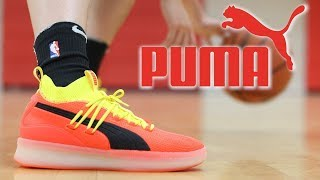 on sale 92a9a ba106 ... get puma clyde court basketball shoes unboxing 69464 706d3
